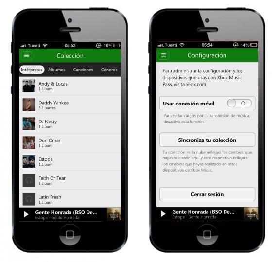 Xbox music3 Microsoft termina de lanzar su aplicación Xbox Music para iOS