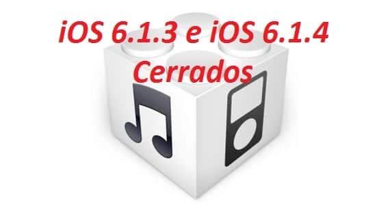 cieere2 Apple deja de firmar iOS 6.1.3 e iOS 6.1.4