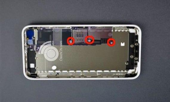 placa iphone5c ¿Primeras fotos de la placa base del iPhone 5C?