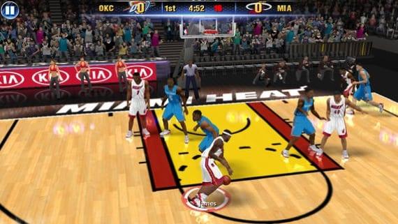 NBA2k14 NBA 2K14 lleva la mejor liga de baloncesto a tu iPhone
