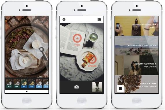 VSCO Cam Alternativas gratuitas a la aplicación Fotos de iOS 7