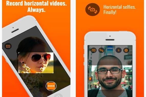 Horizon Horizon, una nueva app que te permite olvidarte de las fotos y vídeos en vertical