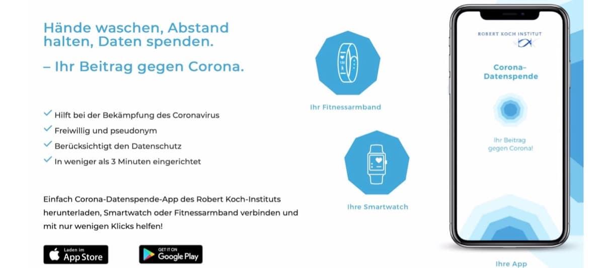 Coronavirus Datenspende