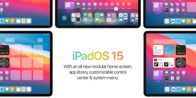 The first concept of iPadOS 15 shows how widgets can look on the iPad screen