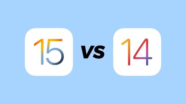 iOS 14.6 vs iOS℗ 15