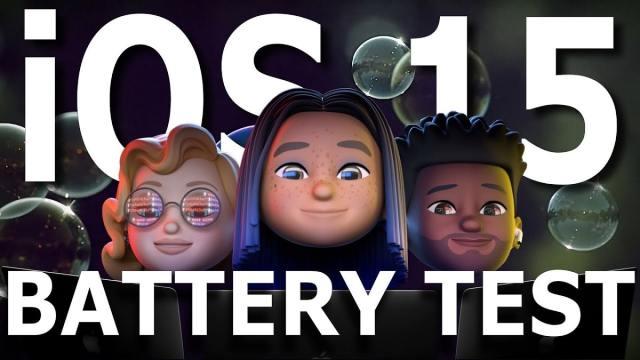 iOS 15 vs iOS℗ 14.6 test de batería