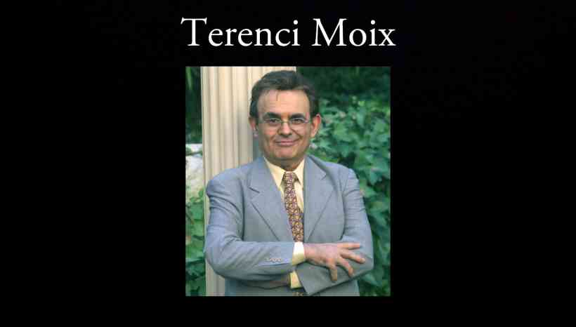 Terenci Moix.