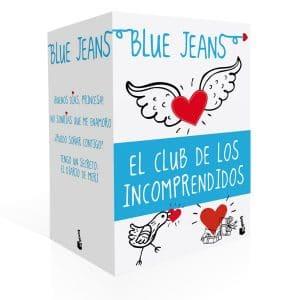 Portada de la trilogía romántica juvenil El Club de los Incomprendidos