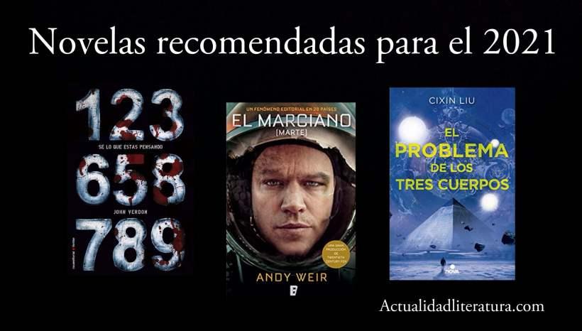Novelas recomendadas para el 2021.
