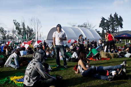 el festival reune la mayor concentración de capules por kilómetro cuadrado en el país.