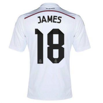 Con el cambio de número los colombianos tendrán que comprar de nuevo la camiseta de James, generando mas ganancias al club merengue