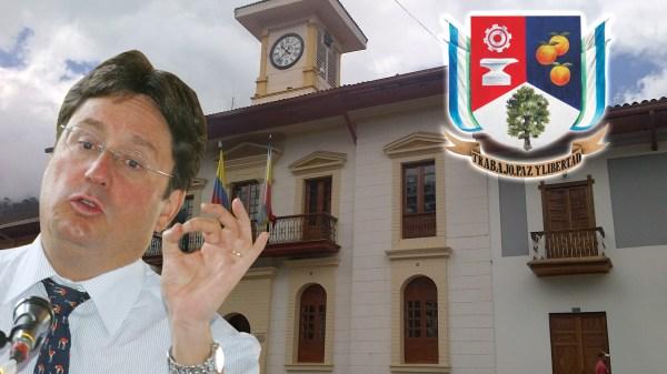 Al parecer un error en el formulario obligó a Santos a presentarse a la alcaldía de Pacho, Cundinamarca