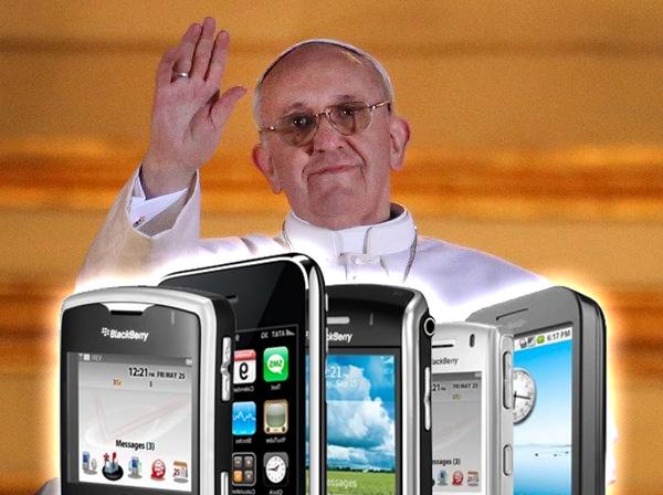 El papa Francisco elevará una oración por todos los celulares perdidos este año.
