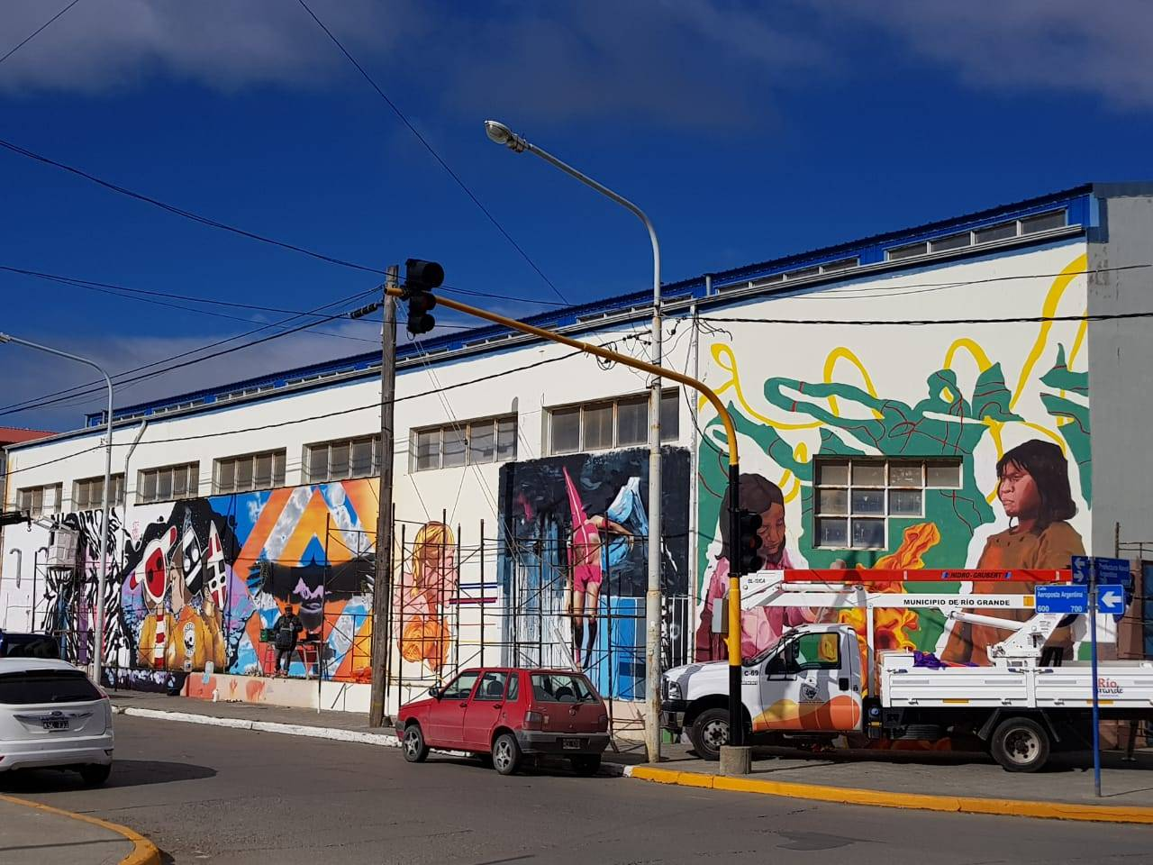 Festival de arte público urbano Curva, urban art, street art