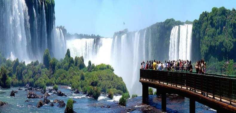 Resultado de imagen para Cataratas del Iguazú - Lado brasilero
