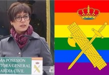 María Gámez, directpra general de la Guardia Civil.