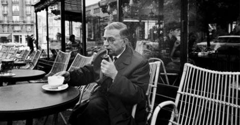 Resultado de imagen de Sartre imagenes