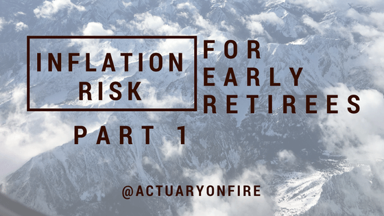 Inflation Risk for Early Retirees – Part 1