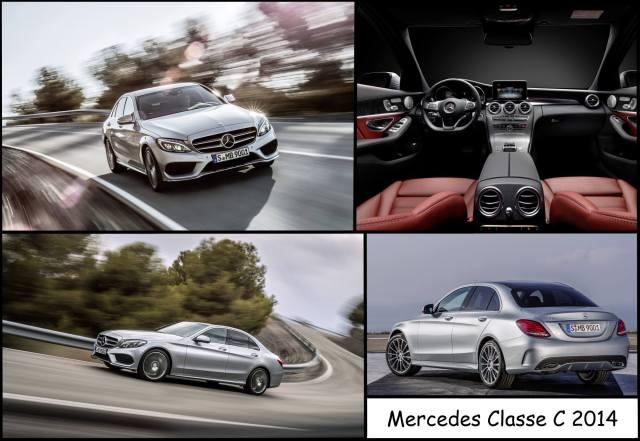Montage de la nouvelle Mercedes Classe C