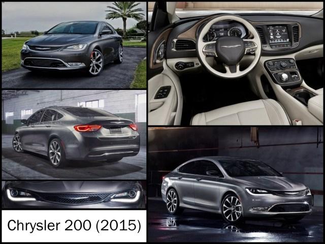 Montage de la Chrysler 200