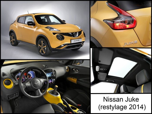 Nissan Juke restylage 2014