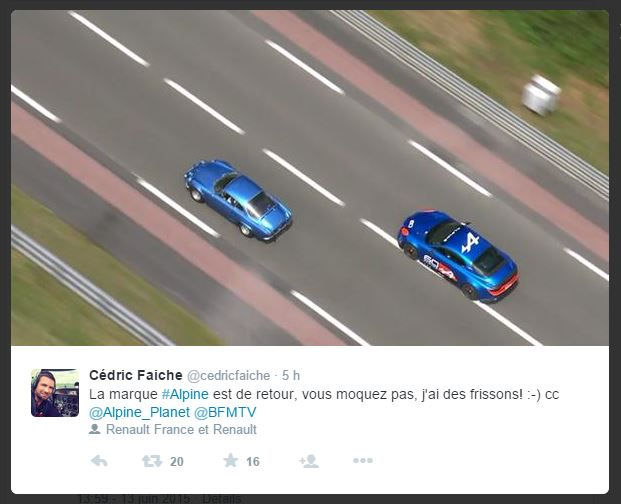 tweet alpine 2