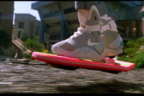 L'Hoverboard, sorte de skateboard volant