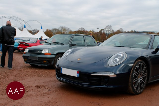 Porsche 911 Targa et Renault 5 GT Turbo