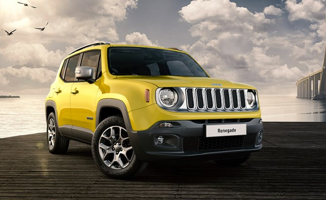 jeep renegade jaune