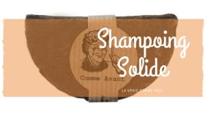 Bye bye les shampoings avec de la silicone !