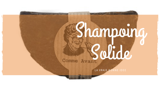 Passez au shampoing solide!