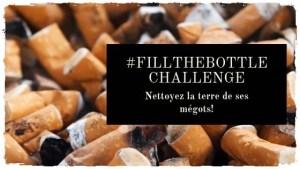 Participez au challenge #FillTheBottle