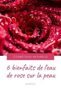 Les 6 bienfaits de l'eau de rose sur la peau