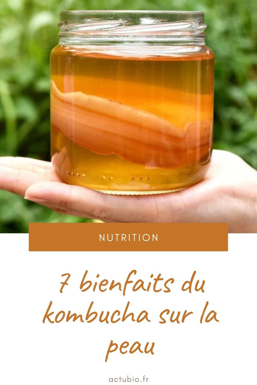 You are currently viewing 7 bienfaits du kombucha sur la peau