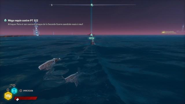 Méga requin contre PT 522