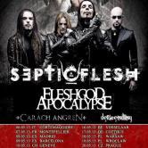 SEPTIC FLESH + Fleshgod Apocalypse + Carach Angren + The Descending @ la Secret Place MONTPELLIER