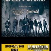 Eluveitie + Arkona + Skalmold @u Metronum