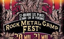 ROCKMETALCAMP #5 @ ST HILAIRE LES PLACES LES 20 ET 21.052016