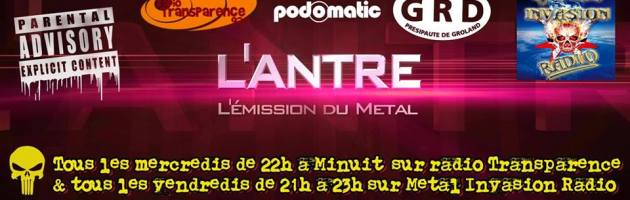 L'Antre, l'émission du Metal – PODCASTS-
