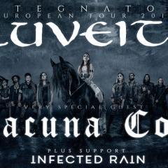 ELUVEITIE + LACUNA COIL + INFECTED RAIN @u Bikini
