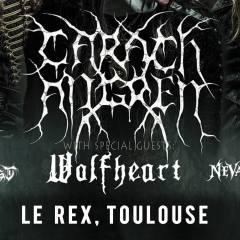 CARACH ANGREN + WOLFHEART + THY ANTICHRIST + NEVALRA @u Rex