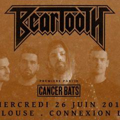 BEARTOOTH+ CANCER BATS @u Connexion Live