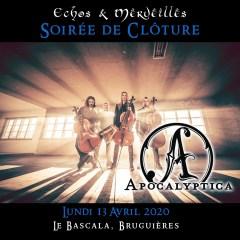 APOCALYPTICA + ARKONA + HANTAOMA (ECHOS ET MERVEILLES FESTIVAL) @u Bascala