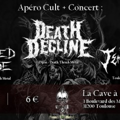 DEATH DECLINE + ALTERED SHADE + TEMPT FATE @ La Cave A Rock