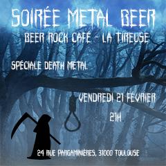 SOIREE METAL BEER SPECIALE DEATH METAL @ La Tireuse