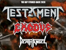REPORT // TESTAMENT + EXODUS  + DEATH ANGEL @u Bikini le 29 février 2020 by Reaper