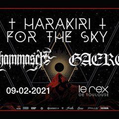 HARAKIRI FOR THE SKY + SCHAMMASCH + GAEREA @u Rex