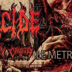 DEICIDE + KRISIUN + CRYPTA @u Metronum