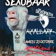 SEXOBAAR @ La Cave A Rock
