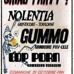 NOLENTIA + GUMMO + COP PORN @ La Cave A Rock